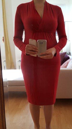 rotes Jersey Kleid von Marina Rinaldi