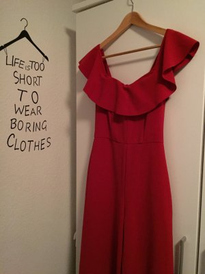 Rotes jumpsuit!