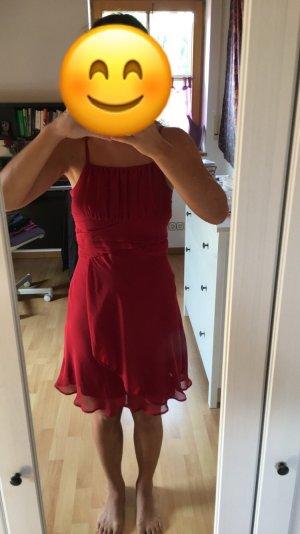 b.p.c. Bonprix Collection Robe de soirée rouge carmin