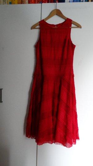 Vestido línea A multicolor