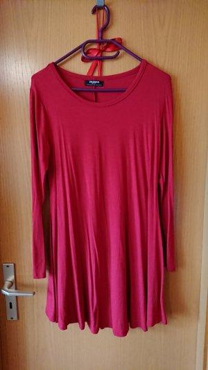 Shirt Dress dark red