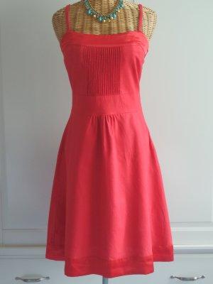 Rotes Kleid aus Leinenstoff Orsay Gr. 36 /S
