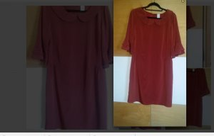 Rotes Kleid Gr L Cocktailkleid