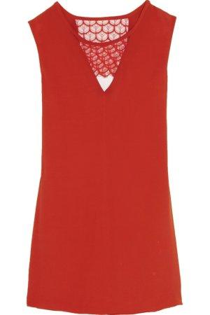 "Rotes Kleid ""Rustico"" von Sandro (34/36)"