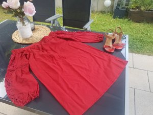 rotes Kleid S