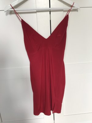 Rotes Kleid Stretch S
