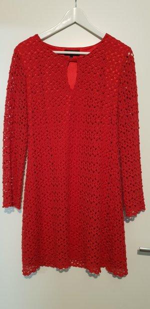 Ana Alcazar Midi-jurk rood