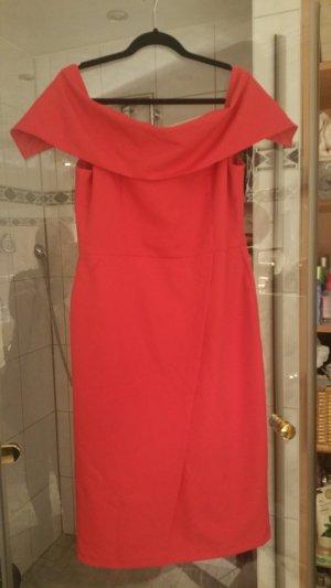 Rotes kleid von englischen label Oasis
