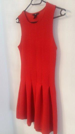Rotes  Kleid von  H&M