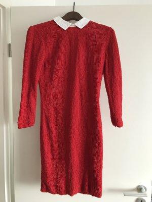 Rotes Kleid von Petit Bateau x Carven