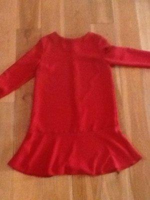 rotes, knielanges Kleid von MNG Basics