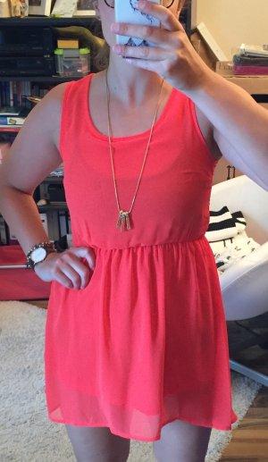 Rotes kurzes Kleid H&M Sommerkleid