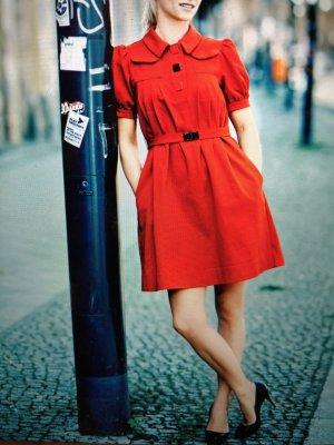 Rotes Kurzes Kleid von See by Chloé