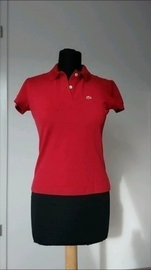 Rotes Lacoste  Oberteil