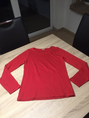 Rotes langarm Shirt Esprit
