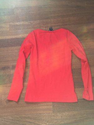 Rotes Langarmshirt H&M