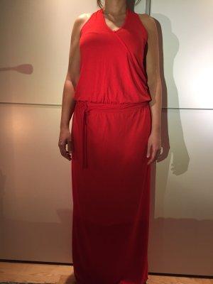 Rotes Langes Neckholderkleid von Expresso