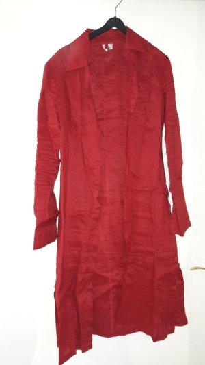 rotes Leinenkleid von Mango