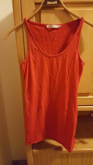 rotes long shirt von stefanel