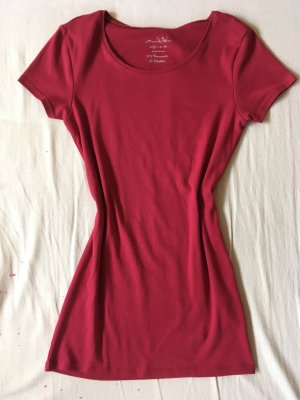 Rotes Longshirt/ Kleid