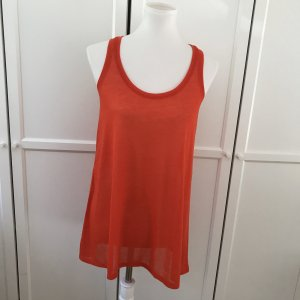 H&M Long Top red-brick red