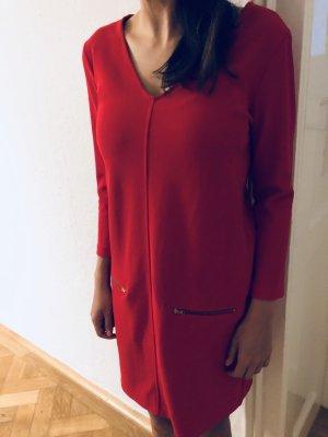 Rotes Mango Kleid in Größe s