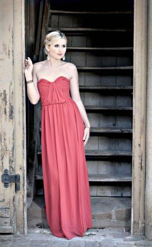Rotes Maxikleid / Abendkleid