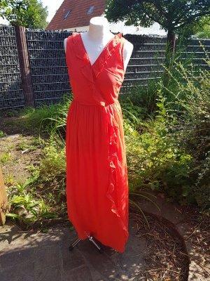 Rotes Maxikleid langes Kleid gr. S (36) hellrot Vero Moda €50,-
