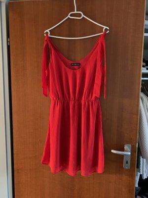 Rotes Midi Kleid