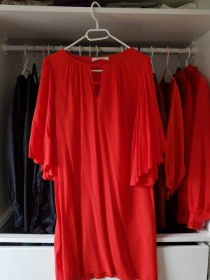 rotes midi kleid von Promod