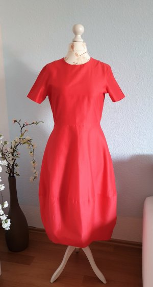 COS Robe ballon rouge-rouge clair