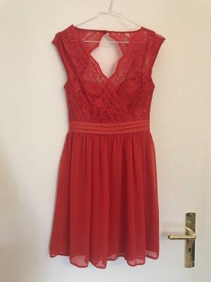 Asos Petite Mini Dress red