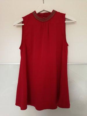 Rotes Oberteil von Vero Moda