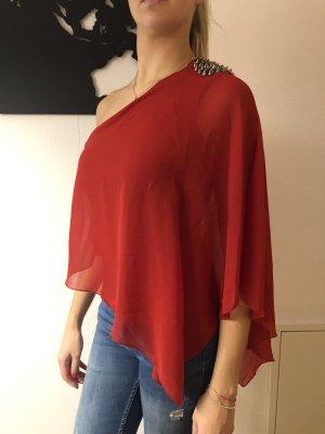 Zara One Shoulder Top multicolored