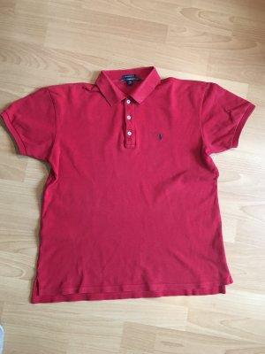 Rotes Polo-Hemd für Herren von Ralph Lauren / Größe S