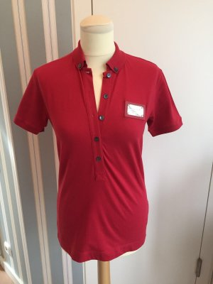 Rotes Polo Shirt von Dolce&Gabbana