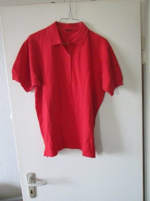 rotes Poloshirt Größe 44