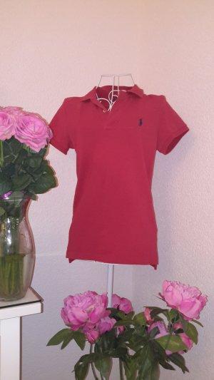 Rotes Ralph Lauren T shirt