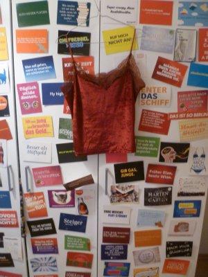 Rotes Samttop mit Spitze, Lingerie, Lace, Blogger, Bordeaux