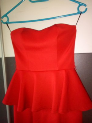 rotes schickes Kleid
