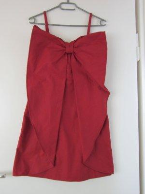 Rotes Schleifenkleid von Sisley