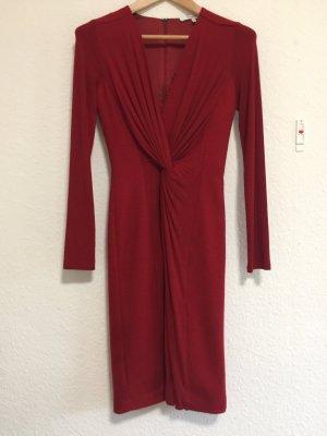 Rotes Schurwoll-Kleid von Max Mara