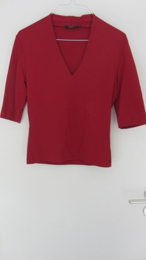 Rotes Shirt aus Meryl von Zero; Grösse 38