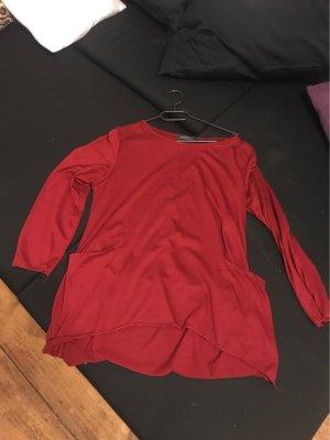 Batik shirt donkerrood