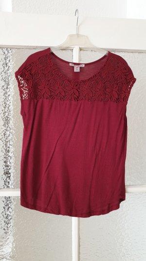 Rotes Shirt Gr. 38