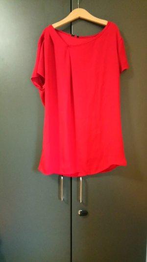 Rotes Shirt Mango M