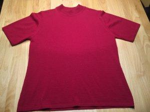 Sixth Sense Camisa tejida carmín-rojo ladrillo