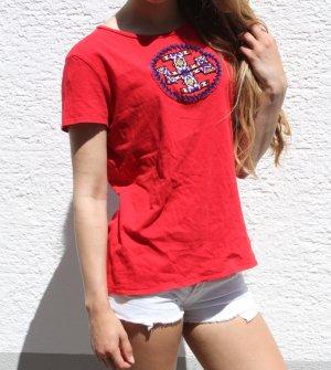 rotes Shirt von Tory Burch
