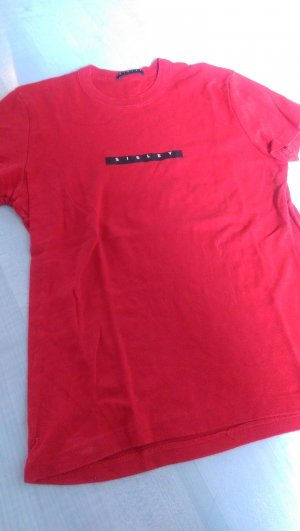 Rotes Sisley T Shirt