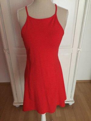 rotes Skater Swing Dress Kleid